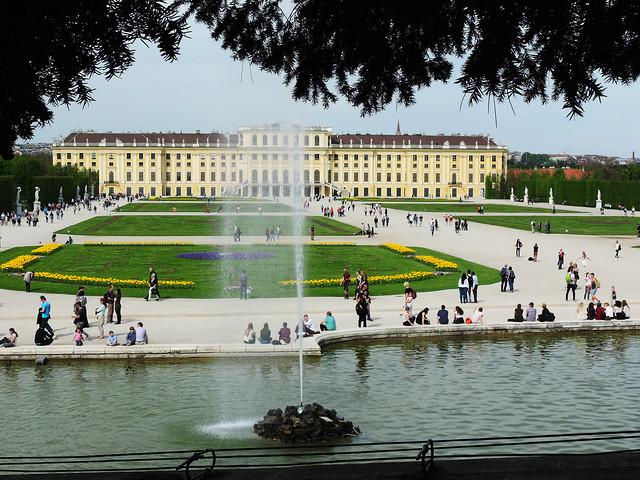 Scönbrunn Palace, Vienna, Austria