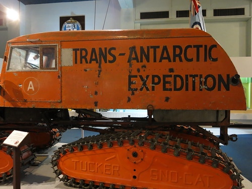 Antarctic vehicle