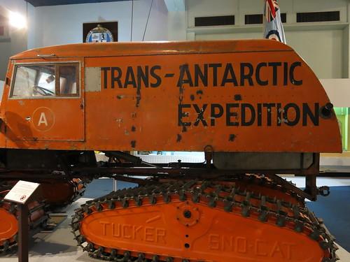Antarctic vehicle