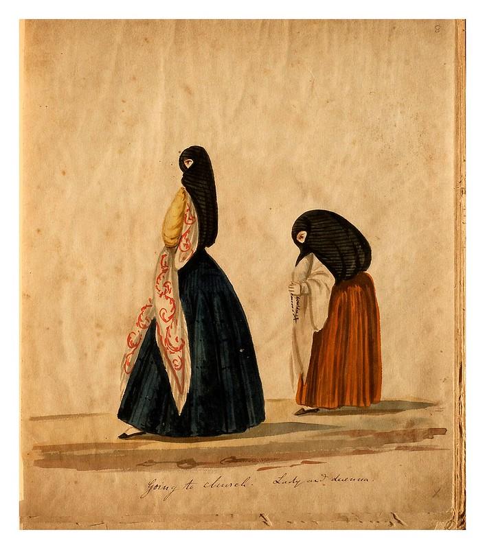 010-Tipos de Lima- Pancho Fierro- 1850-60- Museo de Bellas Artes Argentina.