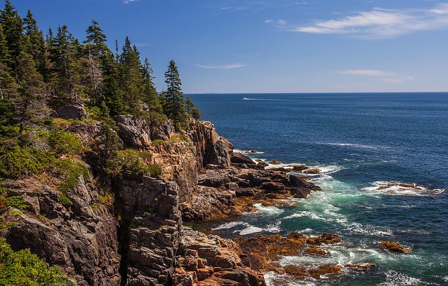 Images of Acadia. Acadia National Park, Near Blackwoods Campground, Mount Desert Island, Maine.