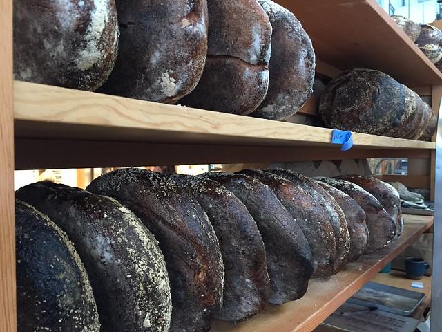 Loaves on the shelf