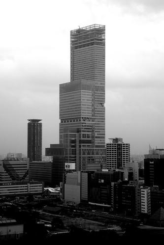 views from 'TSUTENKAKU' tower on DEC 01, 2016 (4)