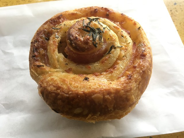 Ham, herb and cheese roll - Hayes Valley Bakeworks
