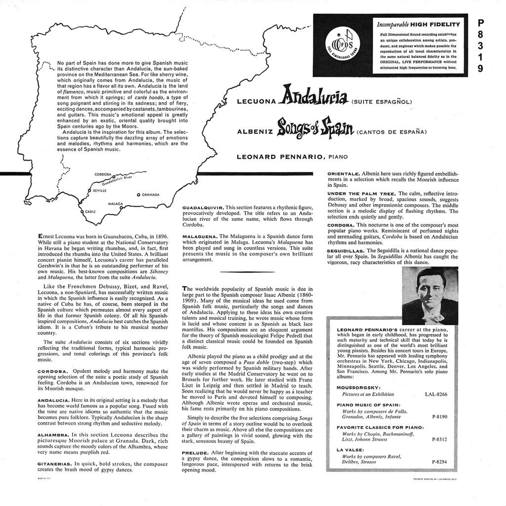 Ernesto Lecuona - Andalucía