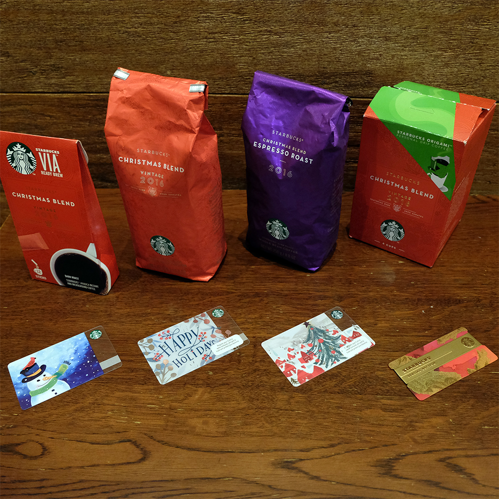 Starbucks Philippines holiday Christmas blend