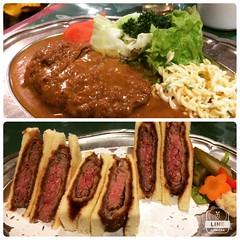 grill bon❤︎ #grillbon #osaka #japan #latergram #グリル梵 #大阪