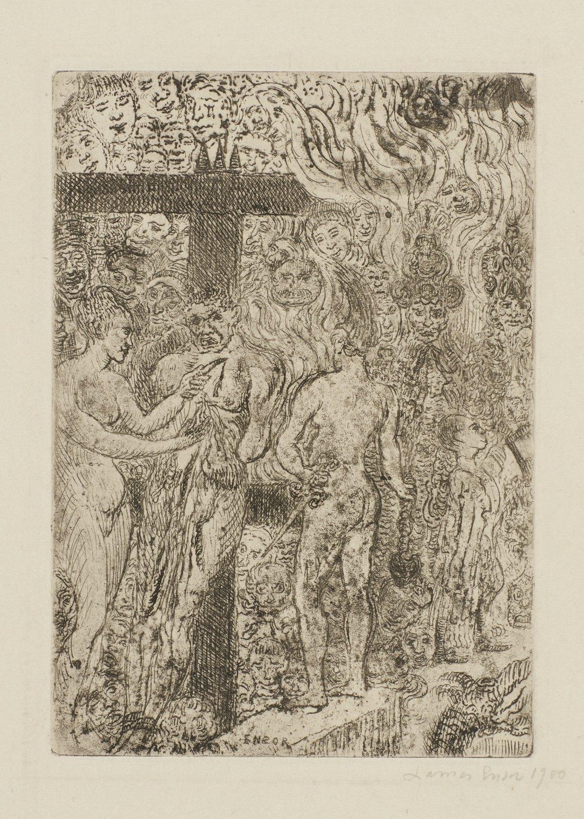 James Ensor - Queen Parysatis, 1899
