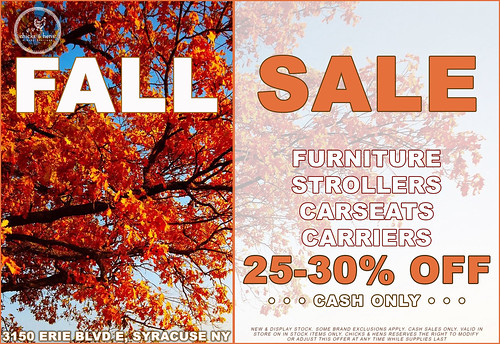 Fall Sale at Chicks & Hens