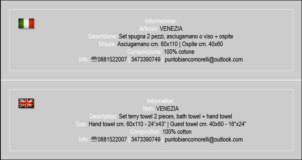 Venezia_set viso+ospite