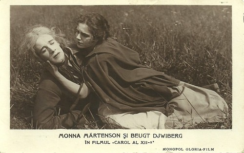 Mona Mårtenson and Bengt Djurberg in Karl XII (1925)