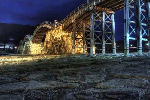 Kintaikyo Bridge at Iwakuni on NOV 23, 2016 (16)