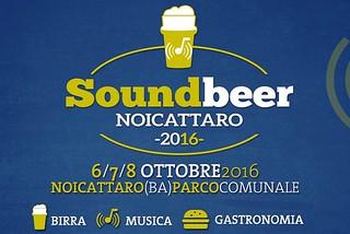 Noicattaro. Soundbeer front