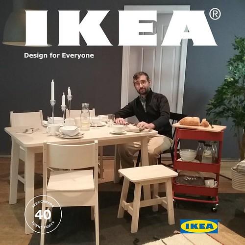 Me, catalogue model #toronto #ikeacan40 #designexchange #ikea #financialdistrict #me