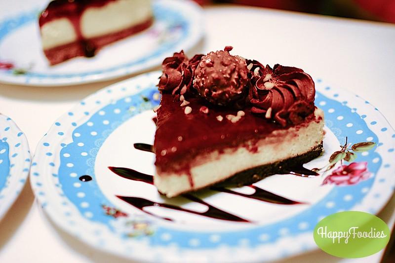 Ferrero Nutella Cheesecake