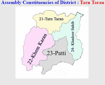 Tarn Taran district Punjab Election 2017