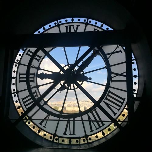 Clock Musée d'Orsay