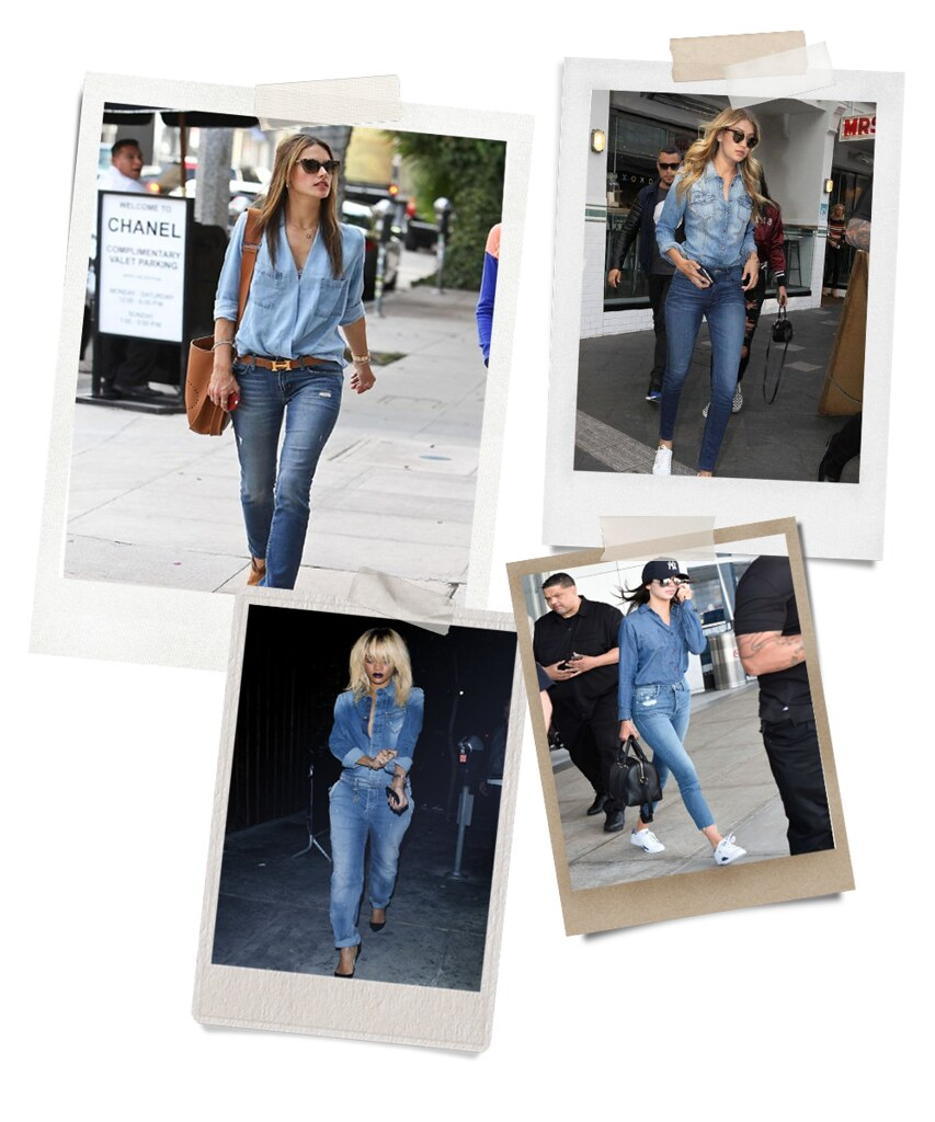 Get The Look- Denim on Denim