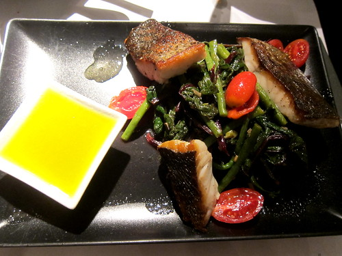 Grilled Croaker with Swiss Chard