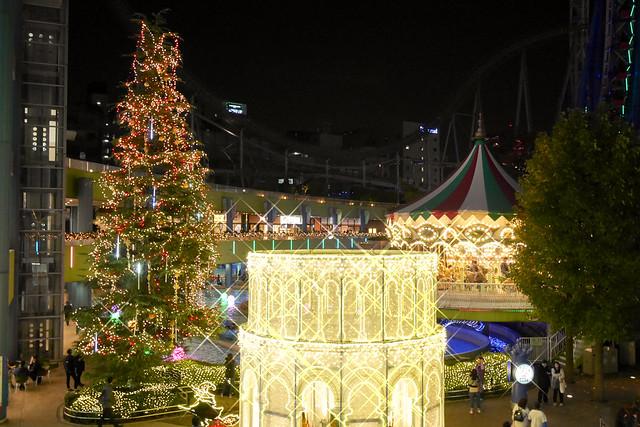 東京ドームシティイルミネーション 2016