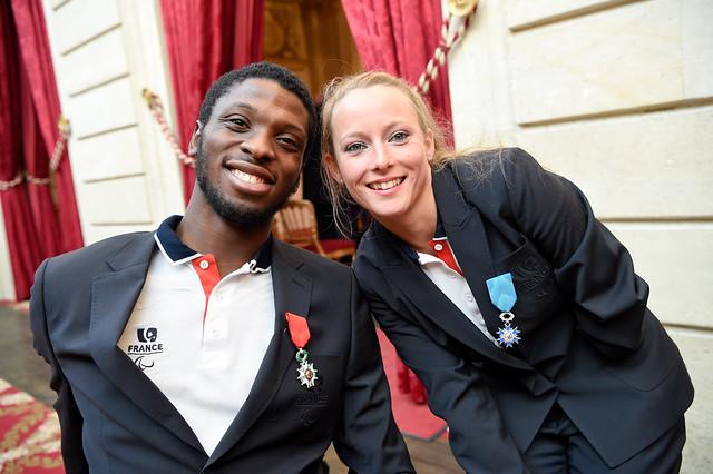 Les médaillés de Rio reçus à l'Elysée