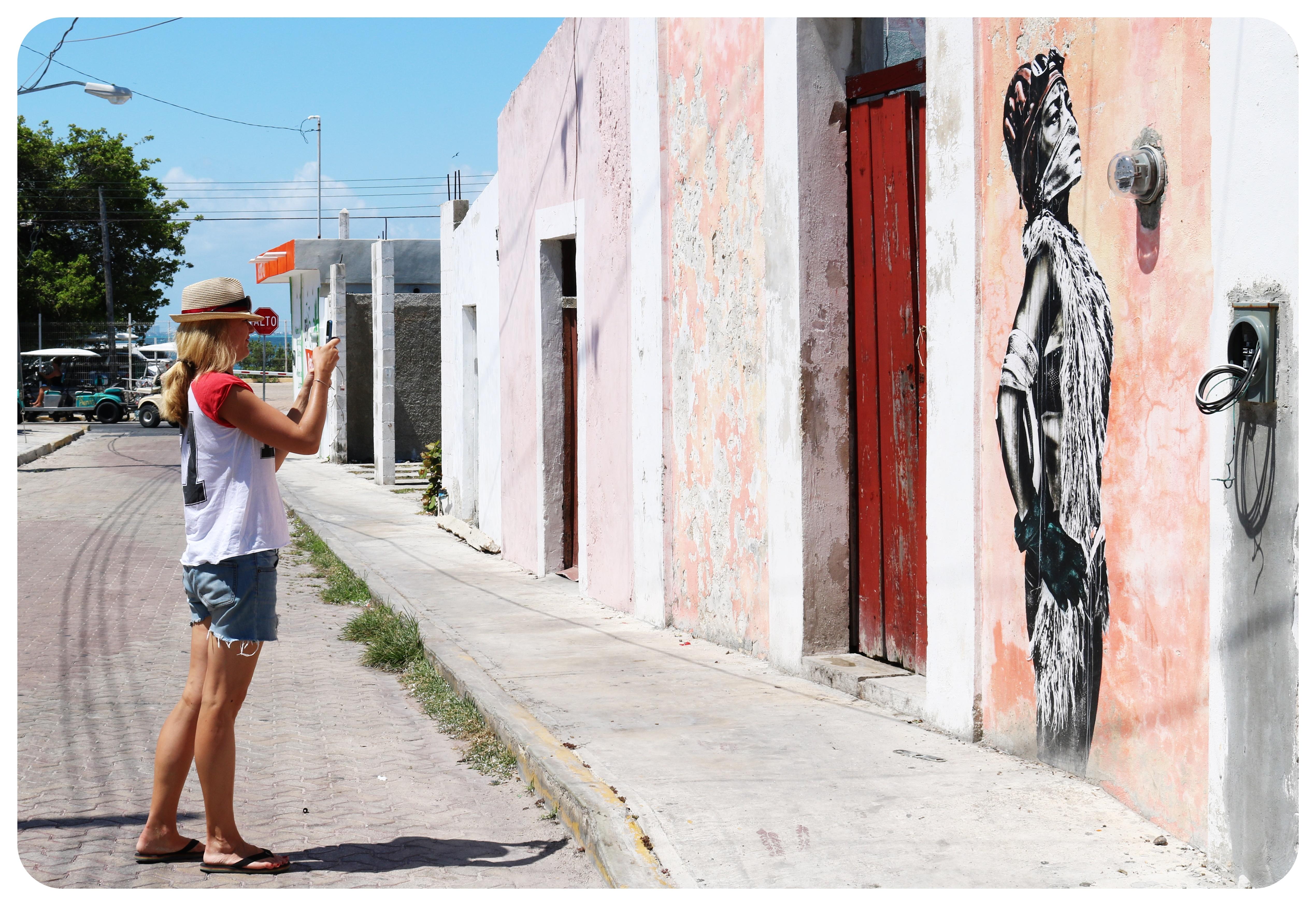 isla mujeres street art mexico
