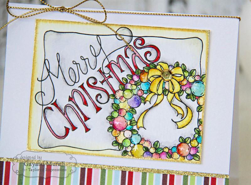 Merry Christmas closeup 1