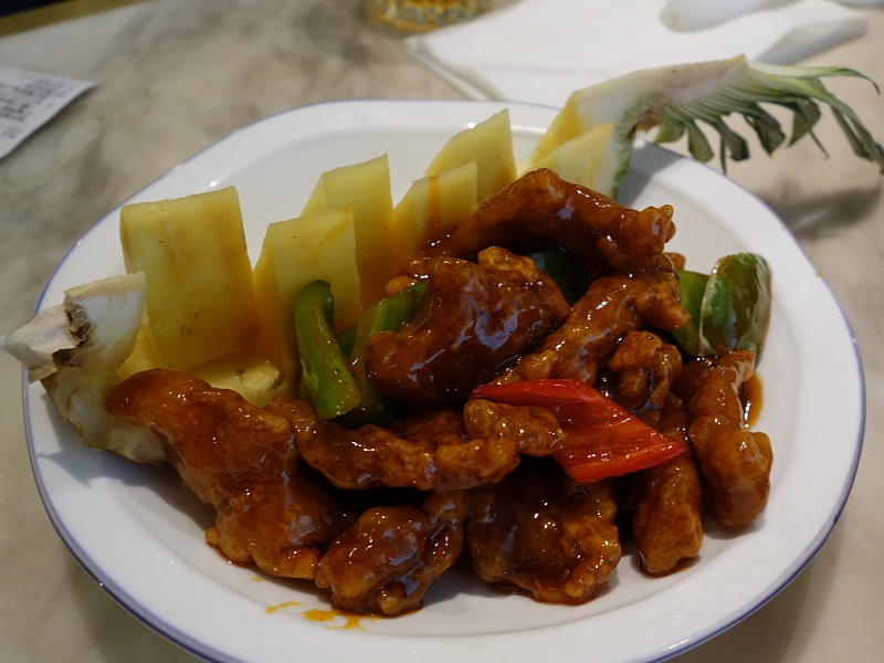 Yum Cha sweet and sour pork