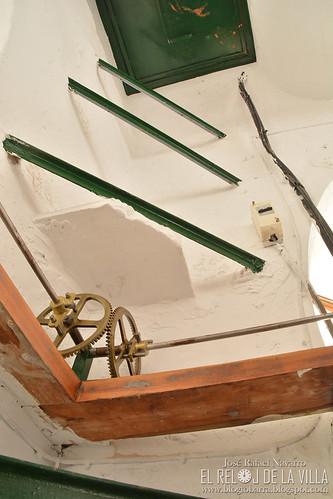 Escalera al campanario