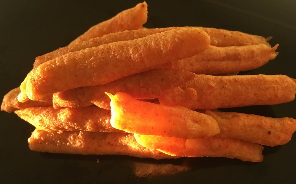 French Fry Bajji -- my new invention :)