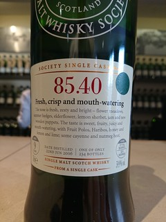SMWS 85.40 - Fresh, crisp and mouth-watering