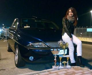Mary Allegretta e la sua auto