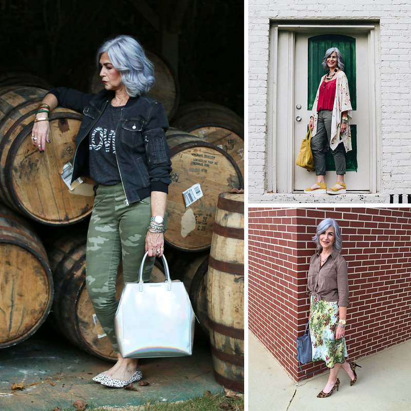 Lisa - The Silver Stylist, over 40, over 50 fashion & style blogger