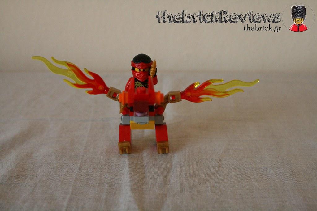 ThebrickReview: LEGO 30422 - Kai's Mini Dragon 30904599426_4d7da64261_b