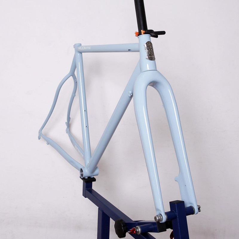 Handmade in Kanagawa JAPAN Steel Era Mudman Frame Painted by Swamp Things