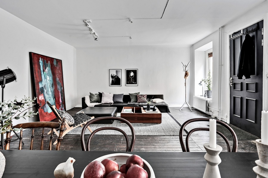 Scandinavian Home With Classic Aesthetic