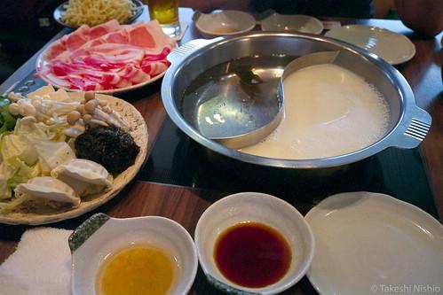 Agu-pork shabushabu