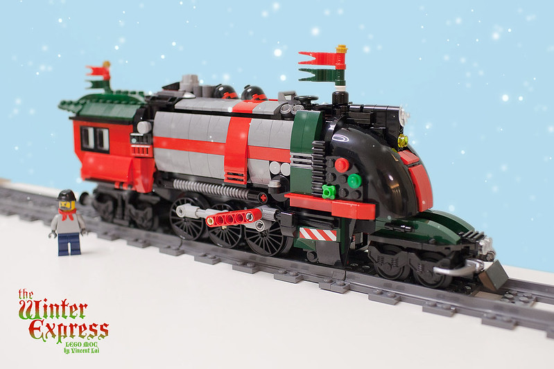 MOC ] The Winter Express - LEGO Town - Eurobricks Forums