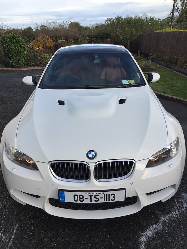 10-12 ALL COLOR PAINTED BMW E92 E93 LCI M-TECH K 2nd TYPE FRONT LIP SPLITTER