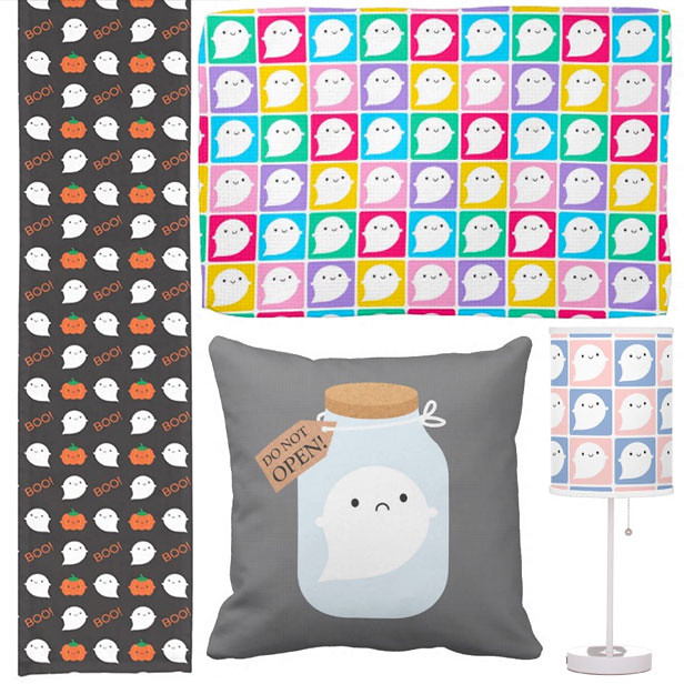 Halloween homeware at Zazzle