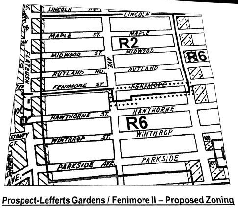 In Prospect-Lefferts Gardens, Heated Debate Over Fenimore ...