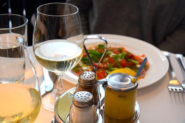 Lunch at Cafe Monico, Soho | www.rachelphipps.com @rachelphipps