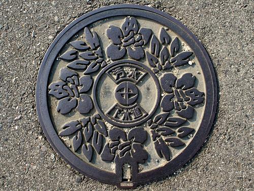Miyoshi Aichi, manhole cover 2 (愛知県みよし市のマンホール2)