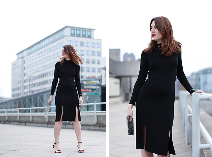 Baukjen Black Dress | London Blogger | Street Style