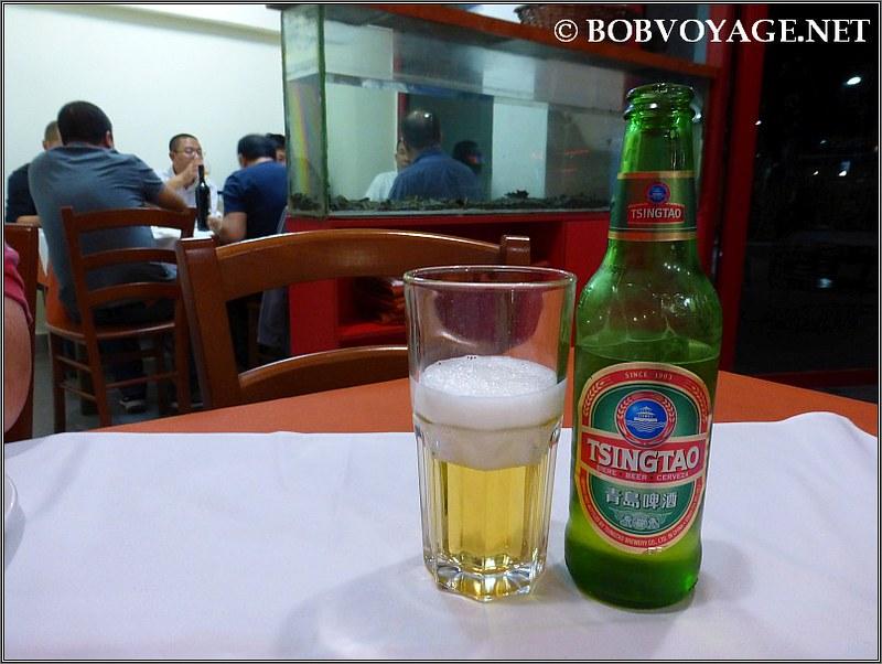 Tsingtao בירה סינית ב- לונג סנג