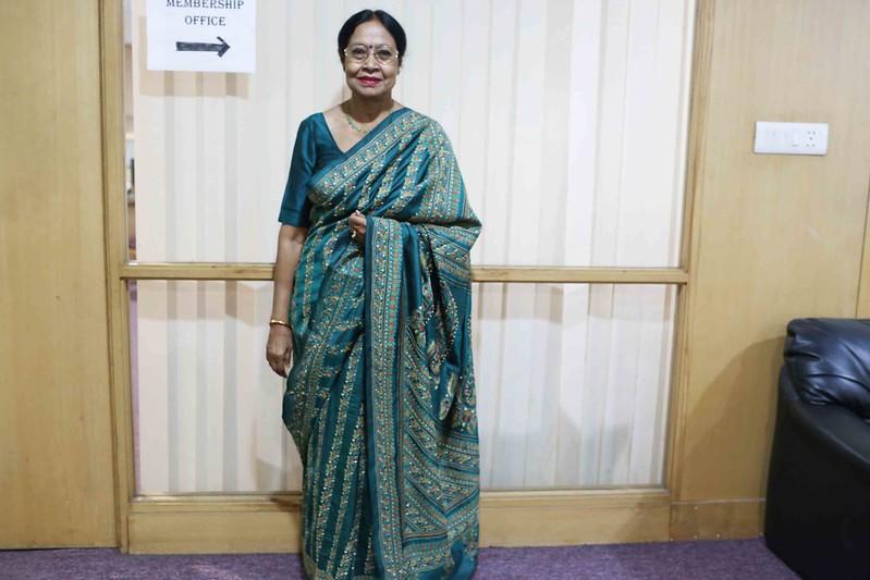 Netherfield Ball – Actor Sharmila Tagore Creates Sensation With Her Glamourous Entourage in Aruna Chakravarti's Book Launch, India International Center