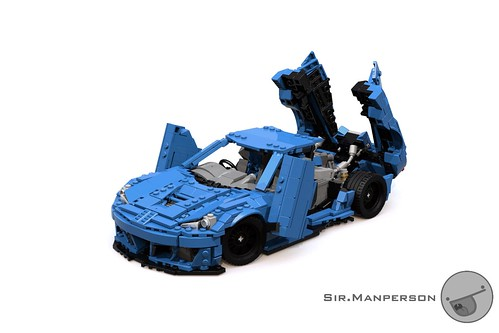 Prowler Python: A LEGO® creation by Sam the First : MOCpages com