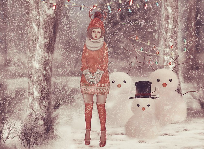 Make me a snowman ....