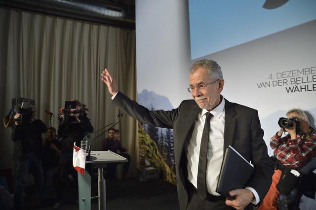 Wahlkampfauftakt Alexander van der Bellen #bpw16