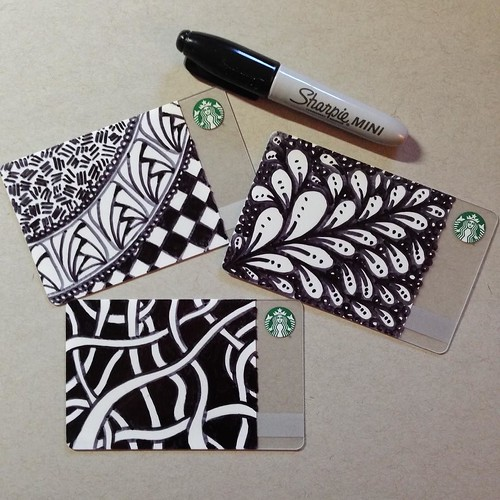 Create Your Own Starbucks Cards - tangled, of course!